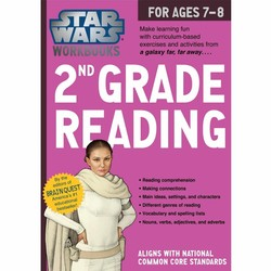 Star Wars Workbook: Grade 2 Reading