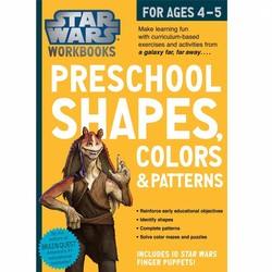 Star Wars Workbook: Preschool Shapes, Colors, & Patterns