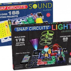 Snap Circuits Deluxe Light & Sound Combo