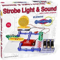 Snap Circuits Strobe Light & Sound