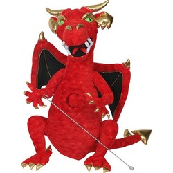 Enchanted Dragon Red Puppet
