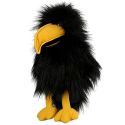 Crow Baby Puppet