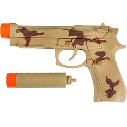 Maxx Action Commando Series 9 mm Pistol with silencer