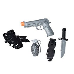 Maxx Action Commando Series Piece Pistol Play Set