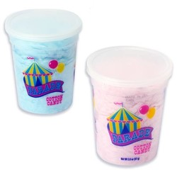 Parade Cotton Candy - 2 oz. Container Assorted Flavors