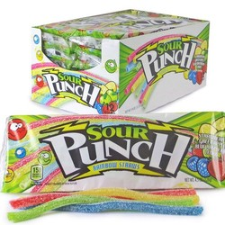 Sour Punch Rainbow Straws 2.0 oz.