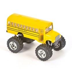 "5"" Diecast School Bus Big Wheel"