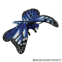"""20"""" Blue Morpho Butterfly Plush"""