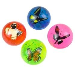 """1.75"""" 45mm Butterfly Hi Bounce Ball"""