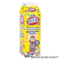 Dubble Bubble Gumballs 20 oz. Machine Refill Box