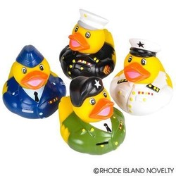 """2"""" Armed Forces Rubber Duckies"""