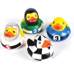 "2"" Racing Rubber Duckies"