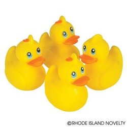 "2"" Classic Rubber Ducky"
