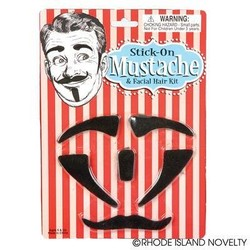 Mustaches And Sideburn Set