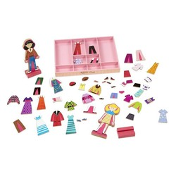 Abby & Emma Magnetic Dress Up Set