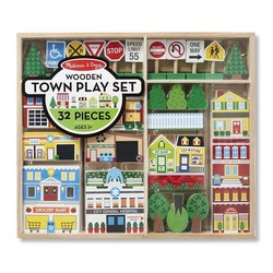 Wooden My Town Accessory Set