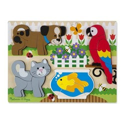 Chunky Puzzle - Pets - 20 Pieces