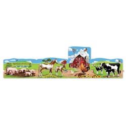 Farm Floor Puzzles 4 - 24 Piece Puzzles