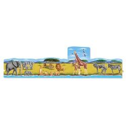 Linking Safari Floor Puzzles 4 - 24 Piece Puzzles
