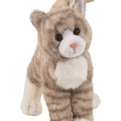 Zipper - Grey Tabby Cat 12""