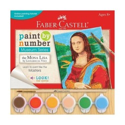 Paint By Number Museum Series - The Mona Lisa