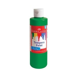 Green Tempera Paint (8 oz bottles)