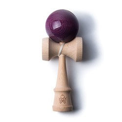 Purple Stained F3 Kendama