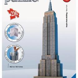3D Empire State Building - 216 Piece Puzzle