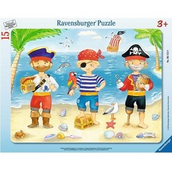 Pirates Voyage of Discovery - 15 pc Frame Puzzle