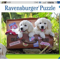 Traveling Pups - 100 Piece Puzzle