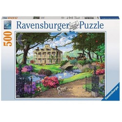 Visiting the Mansion - 500 Piece Puzzle