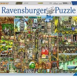 Colin Thompson: Bizarre Town - 5000 Piece Puzzle