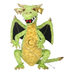 Dragon Large Green Puppet