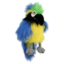 Baby Blue & Gold Macaw Puppet