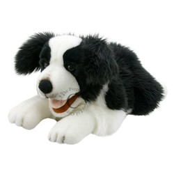Border Collie Large Puppet