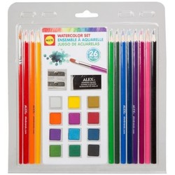 26-Piece Watercolor Set