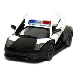 """5"""" Diecast Lamborghini Murcielago LP640 Police"""