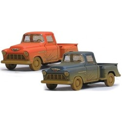 "5"" Diecast 1955 Chevy Stepside Pickup Truck Muddy"