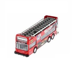 "6"" Diecast Sightseeing Bus"