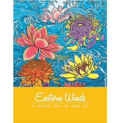 Adult Coloring Book - Eastern Winds