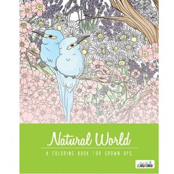 Adult Coloring Book - Natural World