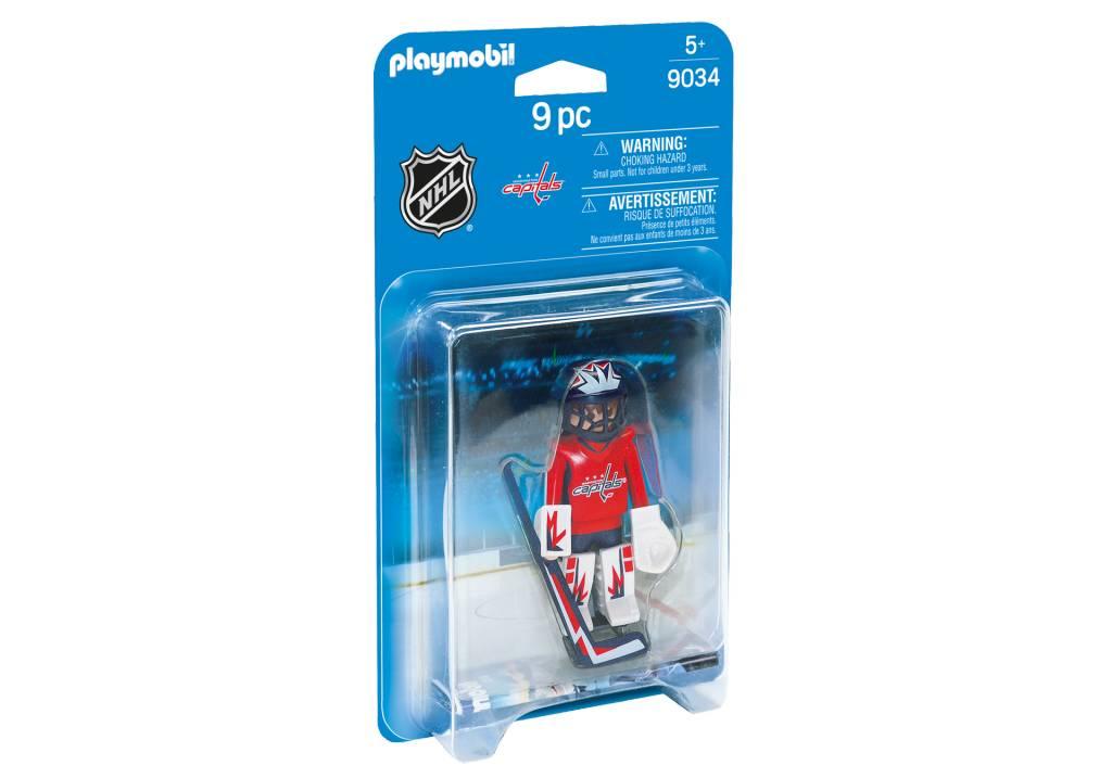 9de20857df2 Playmobil NHL - Washington Capitals Goalie. Press tab to enlarge
