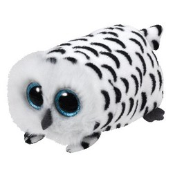 Beanie Babies - Nellie White Owl - Teeny Tys