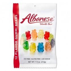 12 Flavor Gummi Bears - 7.5 oz. Peg Bag