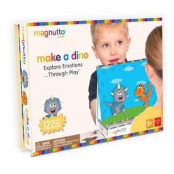 Magnutto - Make a Dino - Educational Magnetic Activity