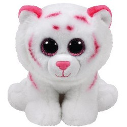 """Beanie Babies - Tabor Tiger Pink - Small 8"""""""