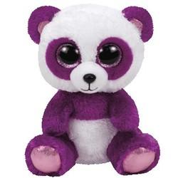 """Beanie Boos - Boom Boom Panda Purple - Medium 13"""""""