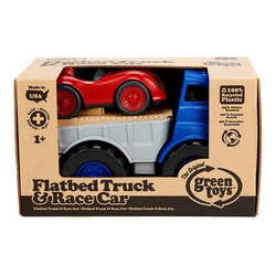 Flatbed with Red Race Car