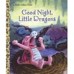 Good Night Little Dragons - A Little Golden Book