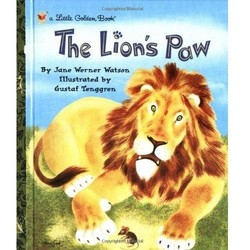 The Lion's Paw - A Little Golden Book